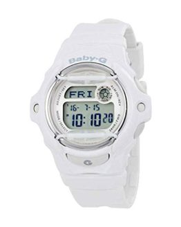 "Casio Women's ""Baby-G"" White Resin Sport Watch"