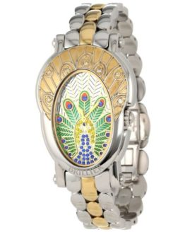 Brillier Women's 'The Royal Plume Collection' Swiss Quartz Watch