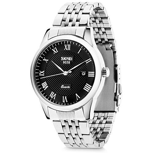 Men's Quartz Analog Watches, Aposon Classic Business Casual Roman