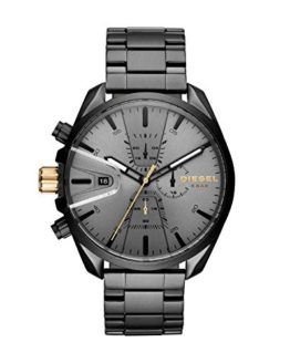 Diesel Men's Ms9 Chrono Quartz Watch with Stainless-Steel Strap