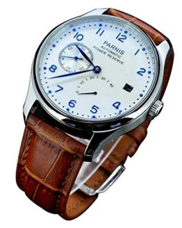 Fanmis Power Reserve White Polit Dial Men's Watch
