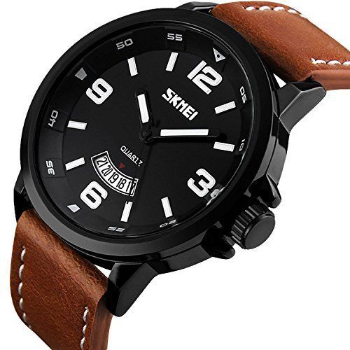 MJSCPHBJK Men's Business Quartz Watch, Casual Fashion Analog Wrist Watch