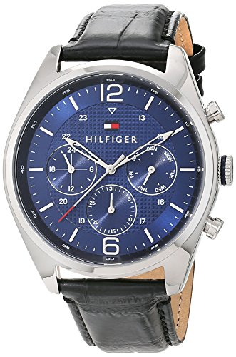 Tommy Hilfiger Men's Sophisticated Sport Analog Display Quartz Black Watch