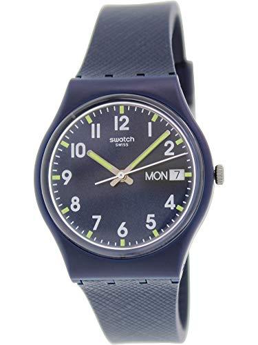 Swatch Unisex Originals Navy Blue Watch