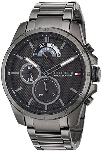 Tommy Hilfiger Men's 'Cool Sport' Quartz Resin Casual Watch, Color:Grey