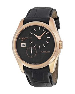 Tissot Men's Analog Display Automatic Self Wind Black Watch