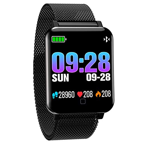 Smart Watch Heart Rate Fitness Blood Pressure Blood Oxygen Pedometer Watch