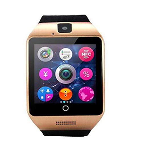 HUFCOR Bluetooth Smartwatch Touch Screen Camera Pedometer