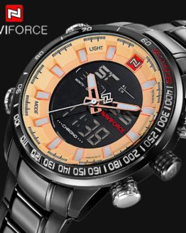 NAVIFORCE Top Luxury Brand Men Digital Sports Watches