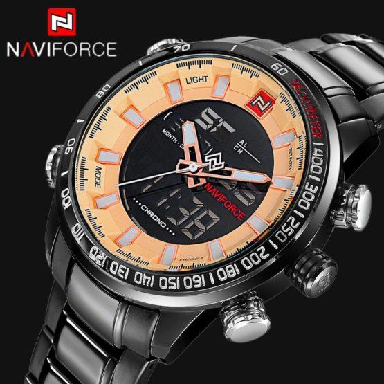 NAVIFORCE Top Luxury Brand Men Digital Sports Watches