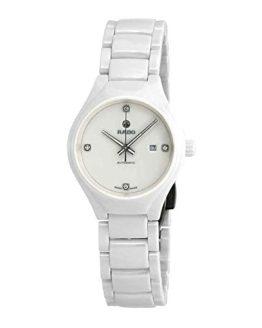 Rado True White Diamond Dial Ladies Ceramic Watch