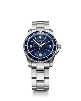 Victorinox Women's 'Maverick' Swiss Quartz Titanium Watch