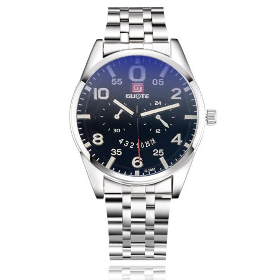 2017 New Arrival Fashion Men's Stainless Steel Quartz Wrist Watch