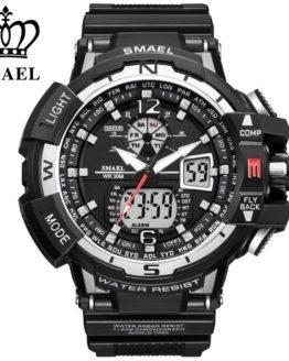 SMAEL Brand Sports Watch Men New Waterproof Fashion Military watches