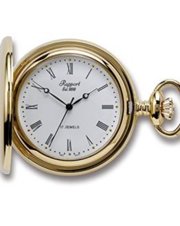 Oxford Hunter Case Pocket Watch - Gold