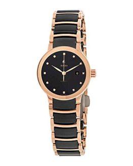 Rado Centrix Automatic Diamond Black Dial Ladies Watch
