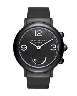 Marc Jacobs Women's Riley Aluminum and Rubber Hybrid Smartwatch