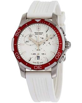 Victorinox Swiss Army Women's Alliance White Chronograph Watch