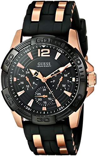 GUESS Men's Sporty Multi-Function Watch