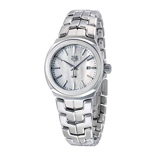 Tag Heuer Link Mother of Pearl Dial Ladies Watch