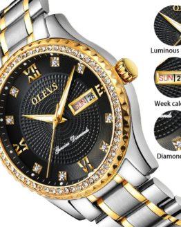 2018 OLEVS Luxury Brand Watch Men's Analog Quartz Auto Date Watches