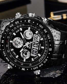 BINZI Men's Watch reloj hombre Sport Waterproof Watches for Men