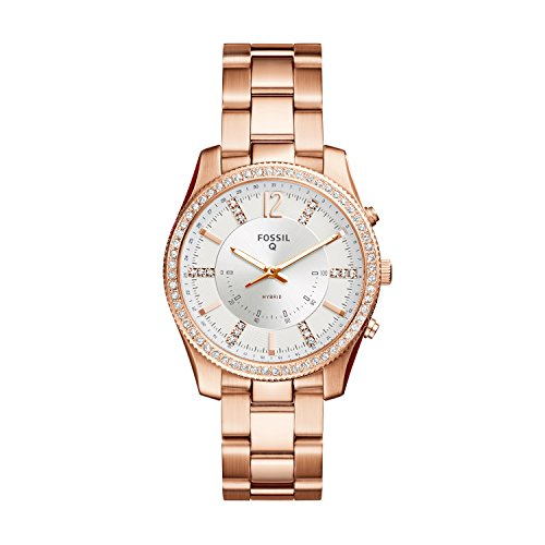 Fossil Hybrid Smartwatch - Q Scarlette Rose Gold-Tone Stainless Steel