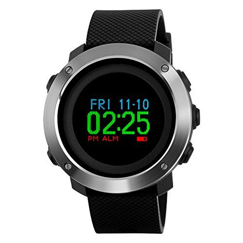 Smart Watch Sports Waterproof Compass Pedometer Digital Watches