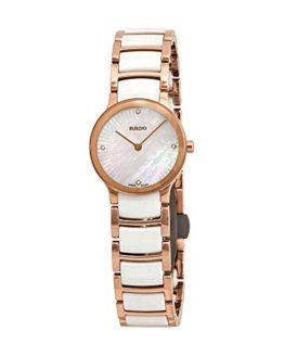 Rado Centrix Diamond White Mother of Pearl Dial Ladies Watch