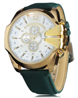 New Fashion Brand Quartz Brushed Metal Case Military Casual Watches