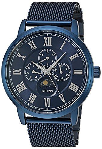 GUESS Men's Stainless Steel Mesh Bracelet Watch