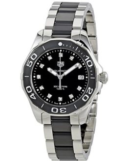 Tag Heuer Aquaracer Black Dial Diamond Ladies Watch