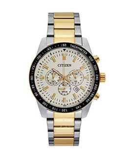 Men's Two-Tone Citizen Chronograph Steel Watch