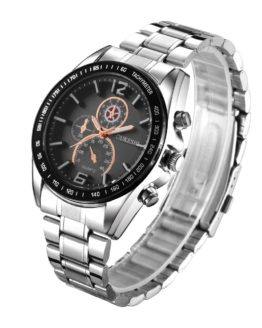 OUKESHI Luxury Top Brand Men's Watch tungsten steel Wrist Watch