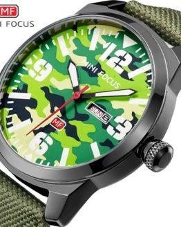 MINIFOCUS Top Fashion Quartz Watch 2018 Brand Luxury Men