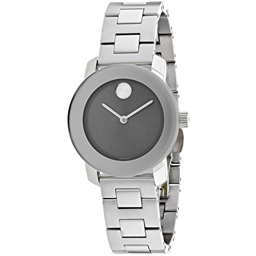 Movado Women's Swiss-Quartz Watch with Stainless-Steel Strap, Silver
