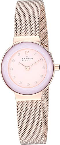 Skagen Women's Leonora Faceted Crystal - Rose Gold One Size