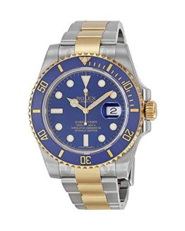 Rolex Submariner 18K Yellow Gold Bracelet Automatic Men's Watch
