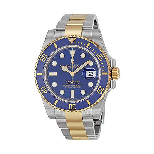 Rolex Submariner 18K Yellow Gold Bracelet Automatic Men's Watch