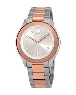 Movado Women's Bold - Stainless Steel/Rose Gold Ion-Plated One Size