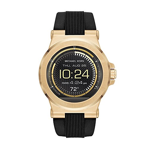 Michael Kors Access, Men's Smartwatch, Dylan Gold-Tone Stainless Steel
