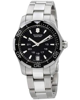 Victorinox Swiss Army Women's Alliance Sport Lady Black Dial Watch