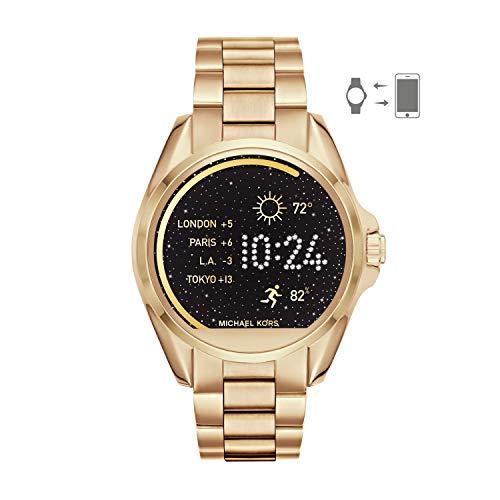 Michael Kors Access Women's Smartwatch Bradshaw Gold-Tone Stainless Steel