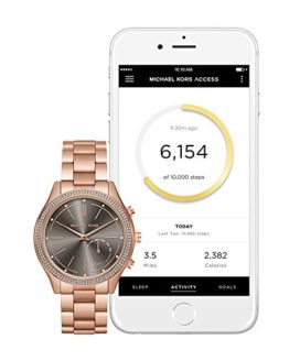 Michael Kors Access Hybrid Rose Gold Slim Runway Smartwatch