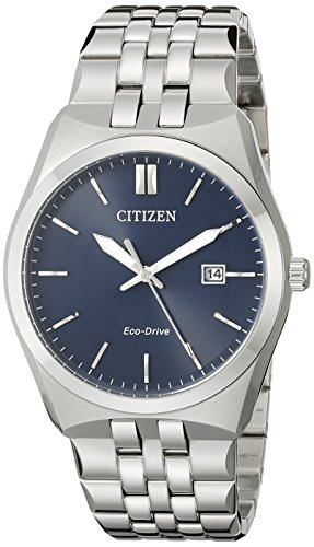 Citizen Men's Eco-Drive Stainless Steel Watch with Date