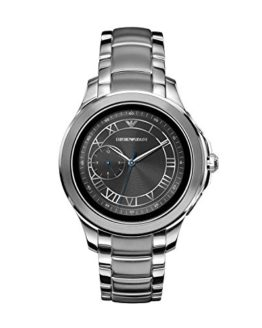 Emporio Armani Men's Stainless Steel Touchscreen Smartwatch