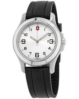 Victorinox White Dial Swiss Army Garrison Elegance Ladies Watch