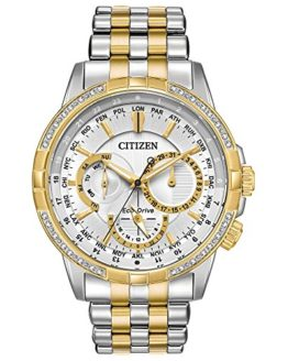 Citizen Calendrier Silver Dial Stainless Steel Men's Watch