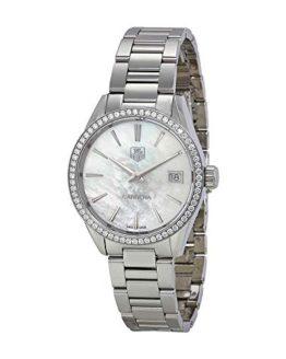TAG Heuer Women's Carrera Analog Display Swiss Quartz Silver Watch