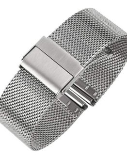 Luxury High-end Fashion Watch Mesh Band Metal